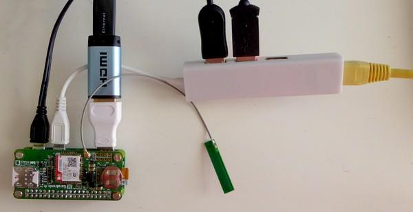 Raspberry Pi Zero W et NadHAT