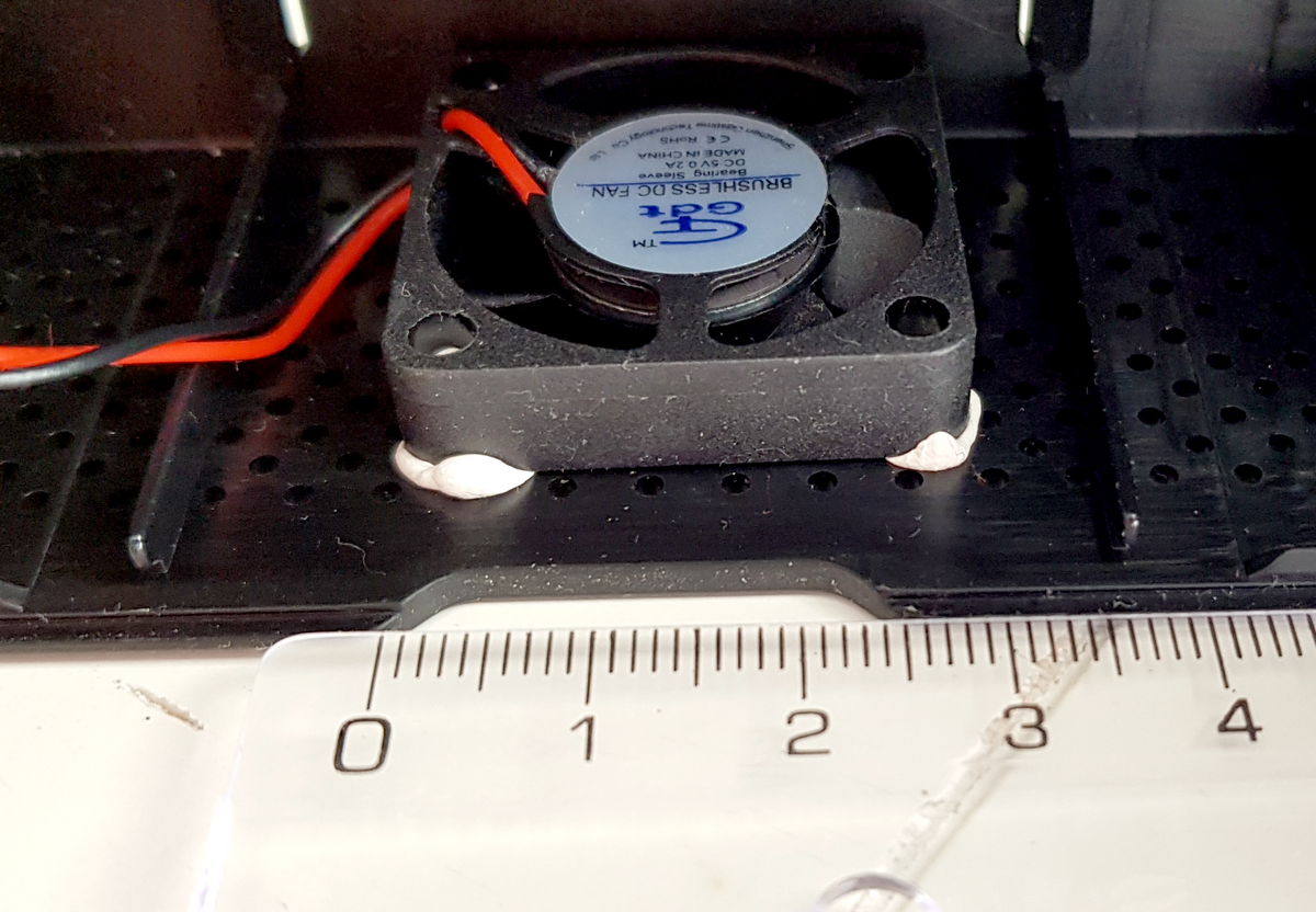 Ventilateur de 30 mm dans un boitier PiDesktop