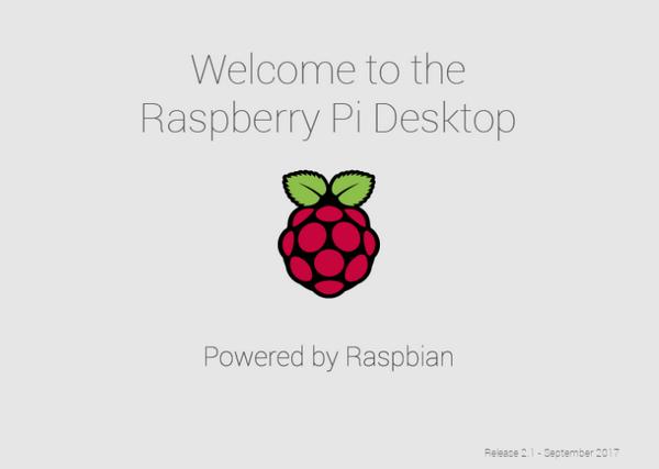SplashScreen de Pi Desktop