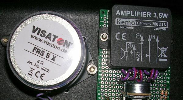 amplificateur brancher haut-parleurs