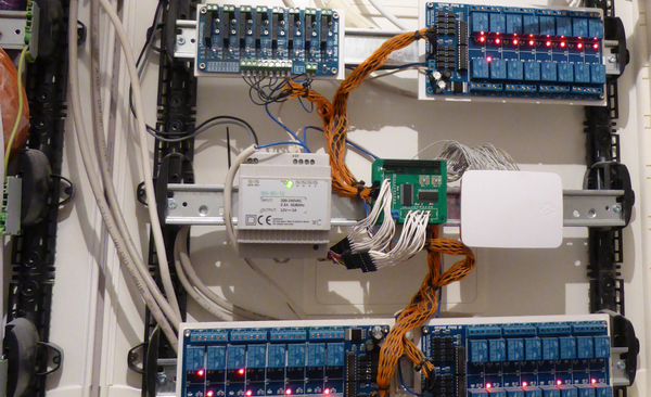 Exemple d'utilisation du Raspberry Pi dans un système domotique