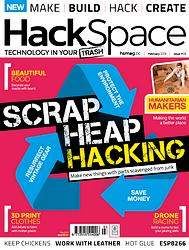 Hackspace Magazine Numéro 3 en téléchargement gratuit sur www.framboise314.fr