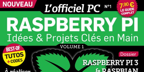 Accès à la page de téléchargement des anciens numéros de L'officiel PC Raspberry Pi - Offerts aux lecteurs de framboise314 par ID-Presse