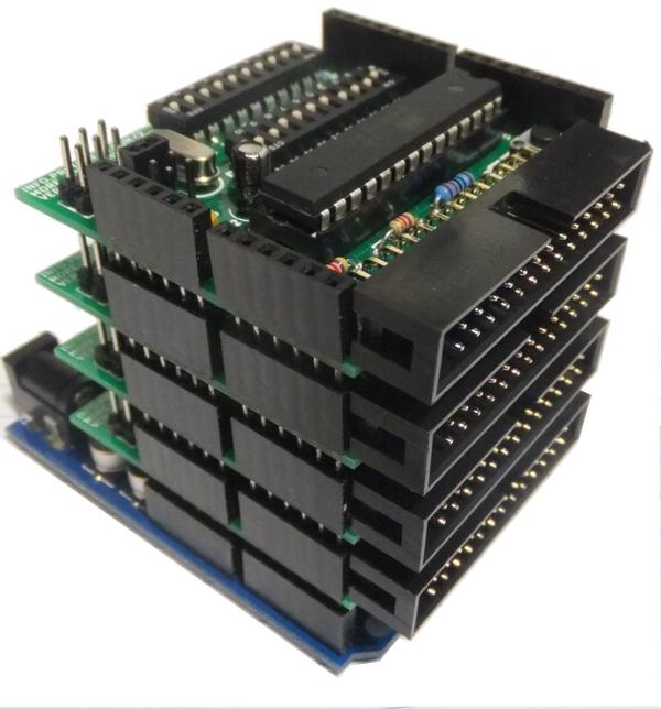 un cluster d'Arduino