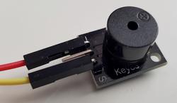 Connexion du module Keyes KY-012 au GPIO du Raspberry Pi - Photo Francois MOCQ