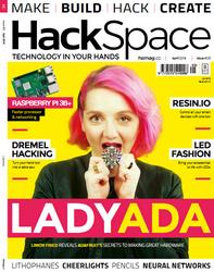 Hackspace Magazine Numéro 5 en téléchargement gratuit sur www.framboise314.fr