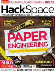 Hackspace Magazine Numéro 6 en téléchargement gratuit sur www.framboise314.fr