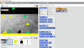 programme de Nessa - Invaders - sur Scratch 2