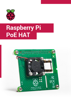 Raspberry Pi PoE HAT Product brief