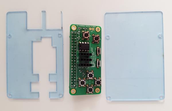 Boîtier acrylique pour le Raspberry Pi 1, 2 ou 3