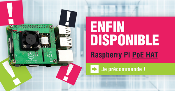 Raspberry Pi HAT PoE