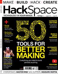 Hackspace Magazine Numéro 9 en téléchargement gratuit sur www.framboise314.fr