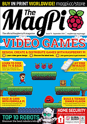 Accès à la page de la revue The MagPi fichiers PDF sans DRM, téléchargement gratuit