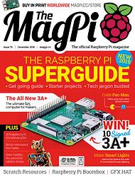 The MagPi N° 76 décembre 2018