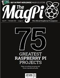 The MagPi N° 75 novembre 2018