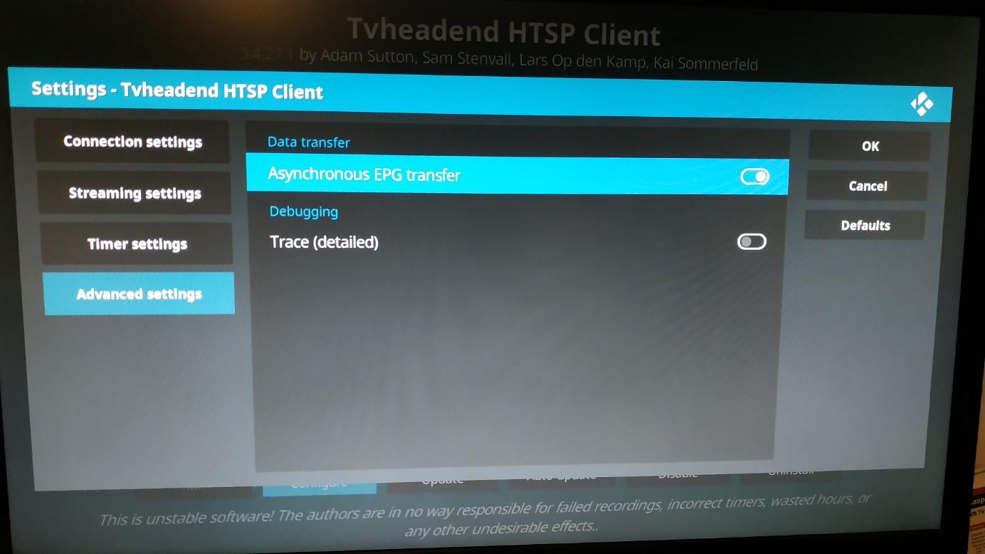 TVHAT pour regarder et enregistrer la TNT avec le Raspberry