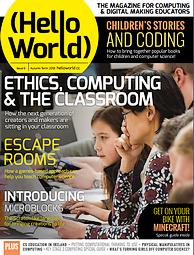Magazine HelloWorld N° 6 en télachargement gratuit sur framboise314.fr