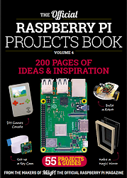 Raspberry Pi Projects Book N° 4  en télechargement gratuit sur framboise314.fr