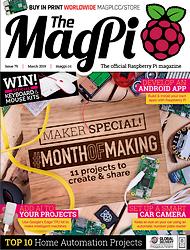 The MagPi N° 79 en téléchargement gratuit sur framboise314.fr