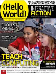 Magazine HelloWorld N° 8 en téléchargement gratuit sur framboise314.fr