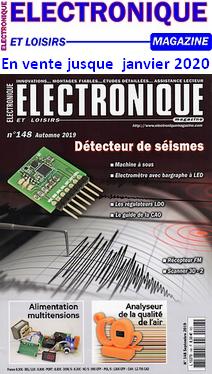 Electronique et Loisirs _ Couverture du N° 148 automne 2019