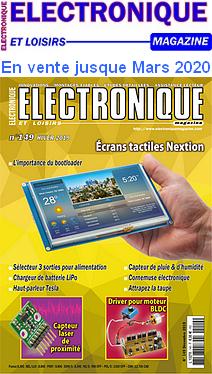 Electronique et Loisirs _ Couverture du N° 149 hiver 2019