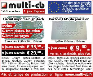 multi-cb fabricant européen de PCB circuits imprimés