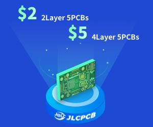 Publicité JLCPCB - Fabricant de ciruit imprimé - PCB
