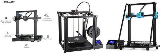 Promotion imprimantes 3D creality