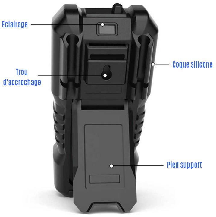multimètre automatique KKMOON HT118A face arrière