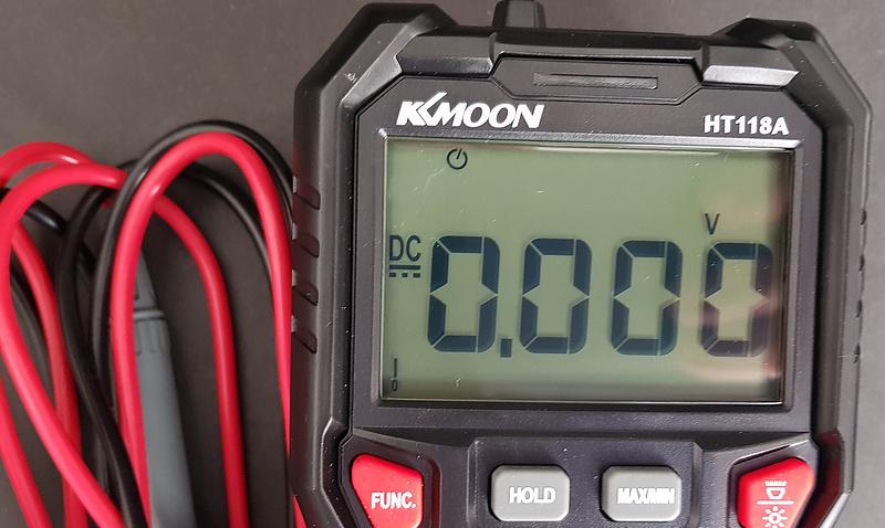 multimètre automatique KKMOON HT118A afficheur LCD