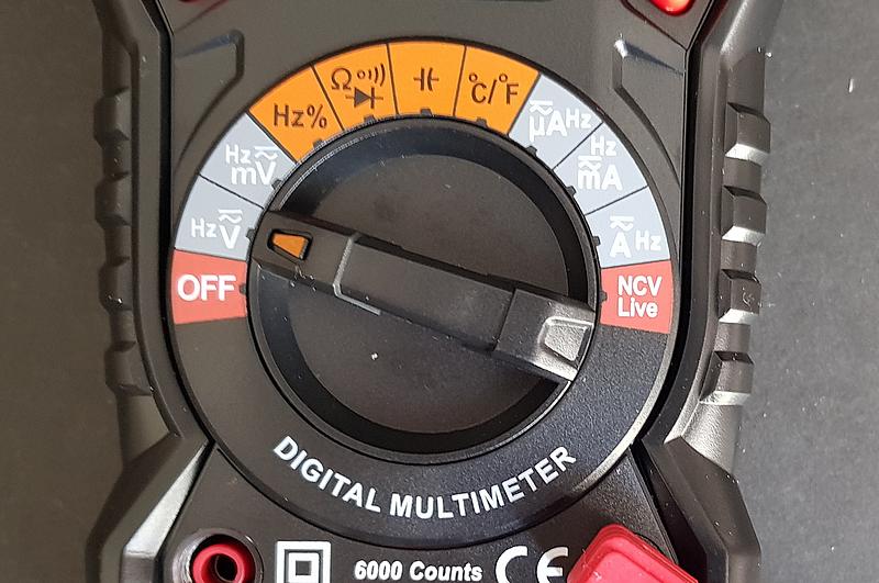 Multimètre KKMOON HT118A  sélecteur de fonctions