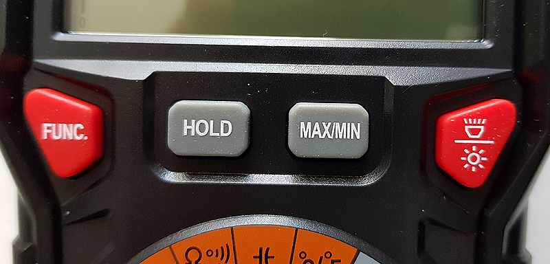 multimètre automatique KKMOON HT118A boutons de fonction