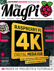 The MagPi N° 87 en téléchargement gratuit sur framboise314.fr