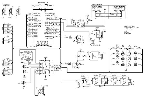 Carte LUDIK-HAT multifonction Raspberry Pi par Mc HOBBY